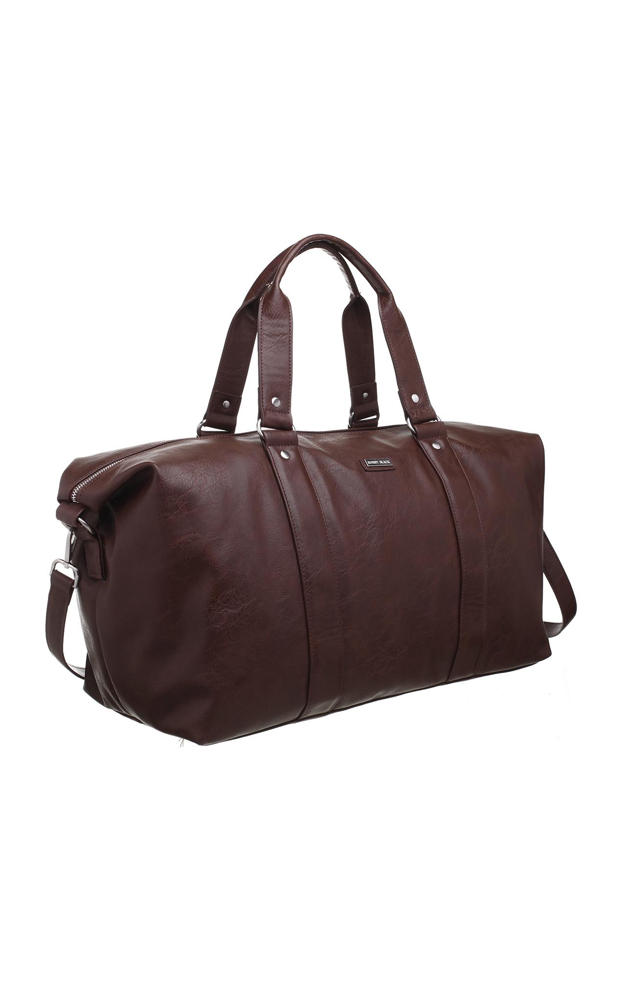 Bobby Black Men's Large Travel Bag